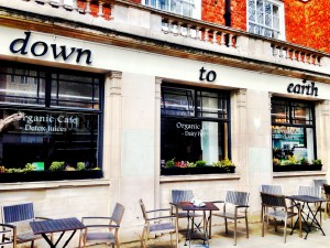 ned til jorden cafe london