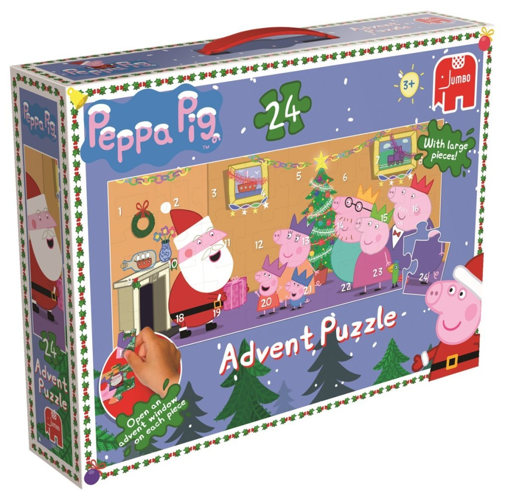 peppa gris adventskalender