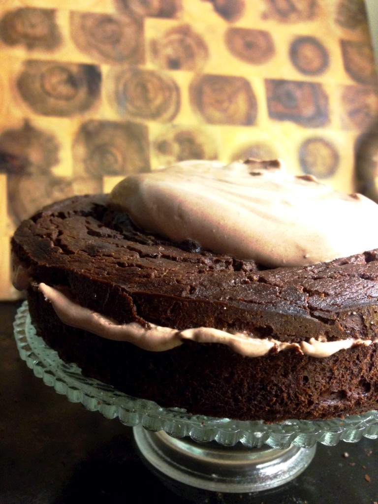 healthy chocolate layer cake gluten free