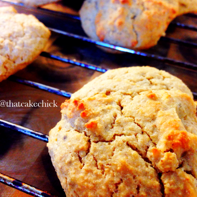healthy scones with oatmeal