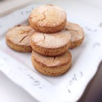healthy apple and cinnamon biscuits