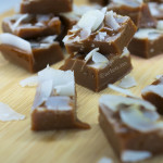soft salted coconut caramels